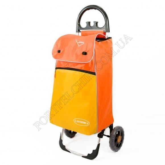 Сумка-тележка Aurora Bolzano 55 Orange оранжевый