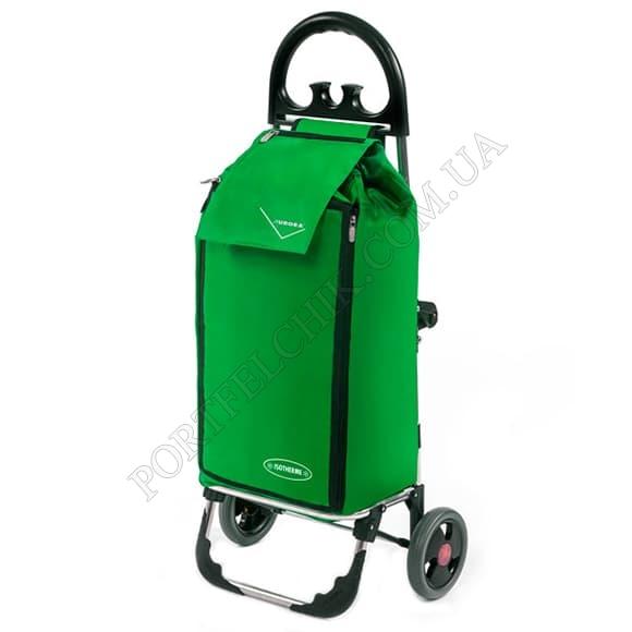 Сумка-тележка Aurora Click Freezer 50 Green зеленый