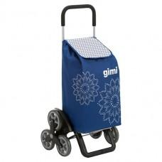 Сумка-візок Gimi Tris 56 Floral Blue