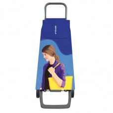 Сумка-візок Rolser Jet Face Joy 40 Azul-Lois