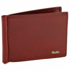 Кожаный зажим для денег Gufo 1231012