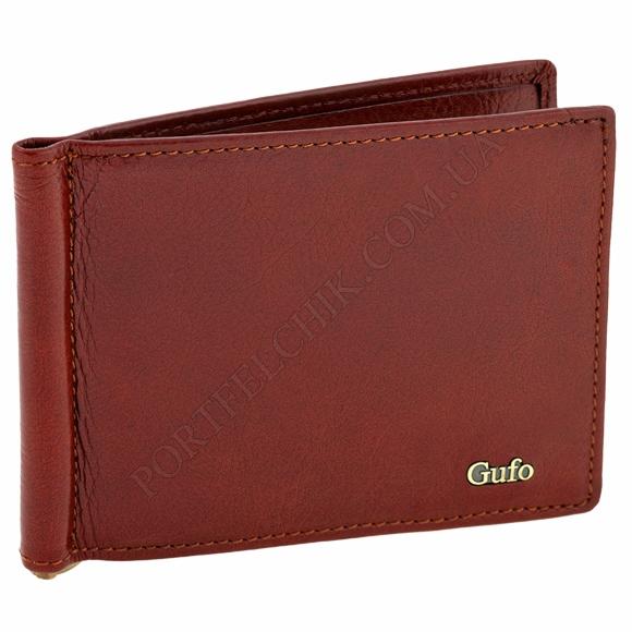 Зажим для денег Gufo 1231012 коричневый