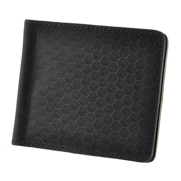 Зажим для денег BlankNote BN-PM-1-G-Karbon черный
