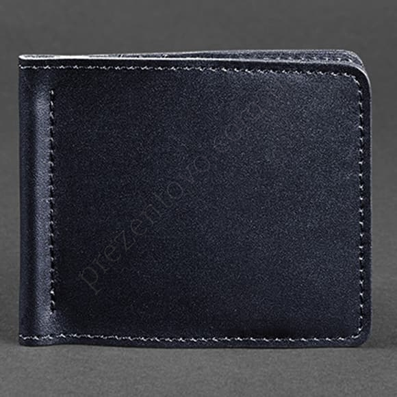 Зажим для денег BlankNote BN-PM-1-navy-blue синий