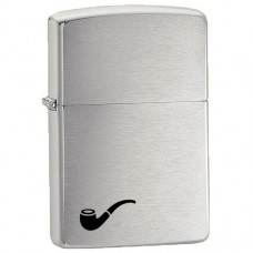 Запальничка Zippo 200 PL Pipe Lighter Brushed Chrome