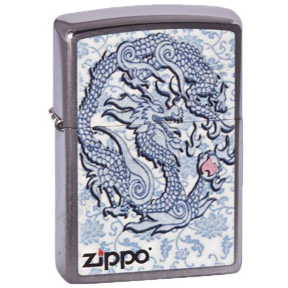 Зажигалка Zippo 200.593 Satin Chrome