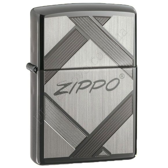 Запальничка Zippo 20969 Unparalleled Tradition Black Ice