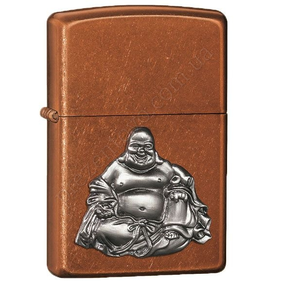 Запальничка Zippo 21195 Buddha Emblem Toffee