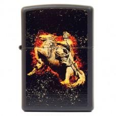 Запальничка Zippo 218 FC FLAMING COSSACK