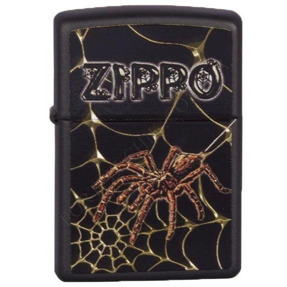 Зажигалка Zippo 218.184 Webs and Spider Black Matte