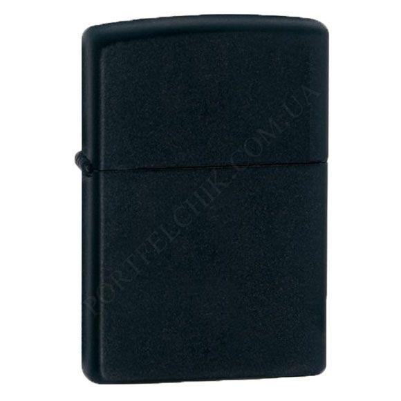 Запальничка Zippo 218 Black Matte