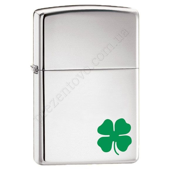 Зажигалка Zippo 24007 A Vit O Luck High Polish Chrome
