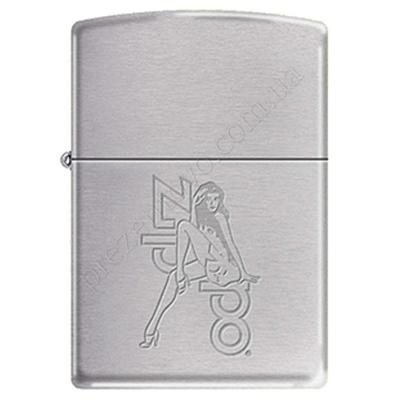 Запальничка Zippo 241018 Woman Brushed Chrome