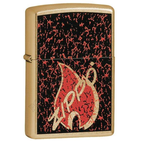 Запальничка Zippo 24193 Retro Flame Gold Dust