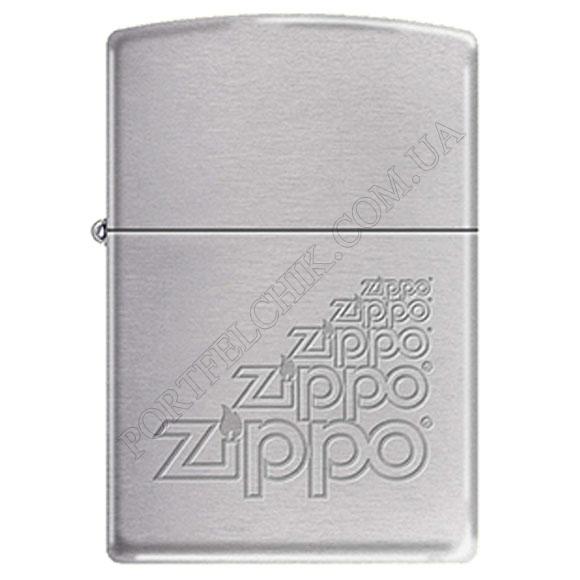 Запальничка Zippo 242329 Brushed Chrome