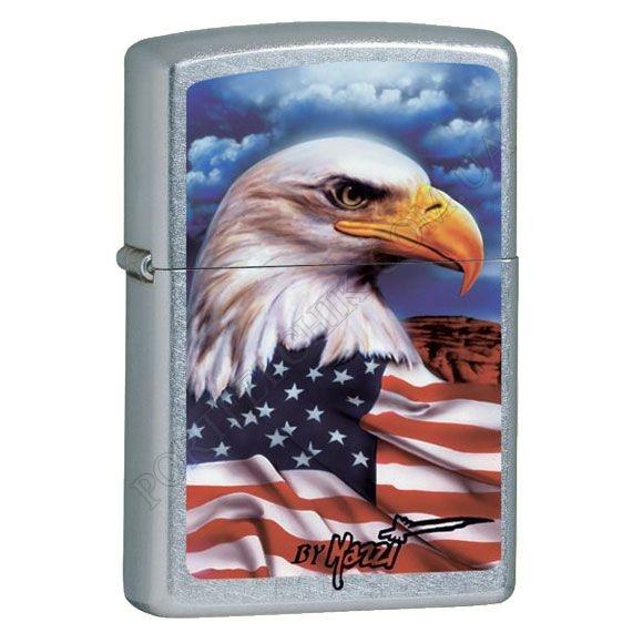 Запальничка Zippo 24764 Mazzi Freedom Watch Street Chrome