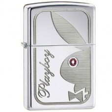 Зажигалка Zippo 24789 Playboy Jewelled Eye High Polish Chrome