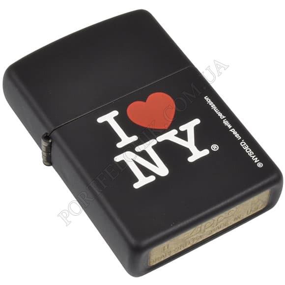 Запальничка Zippo 24798 I Love New York Black Matte
