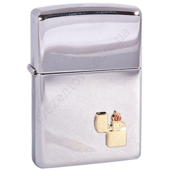 Зажигалка Zippo 250.001 High Polish Chrome
