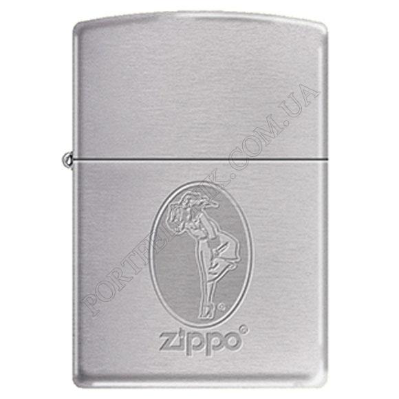 Запальничка Zippo 274171 Girl Brushed Chrome