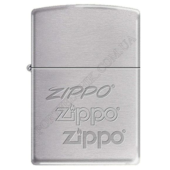 Запальничка Zippo 274181 Brushed Chrome