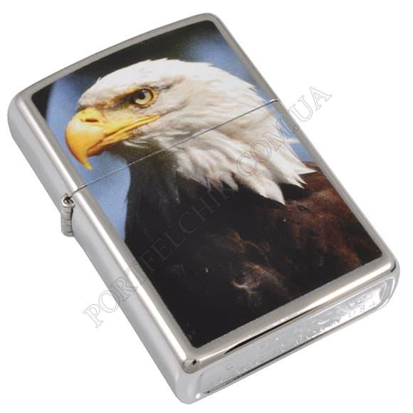 Запальничка Zippo 28048 Eagle High Polish Chrome