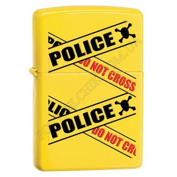 Зажигалка Zippo 28060 Police Caution Lemon