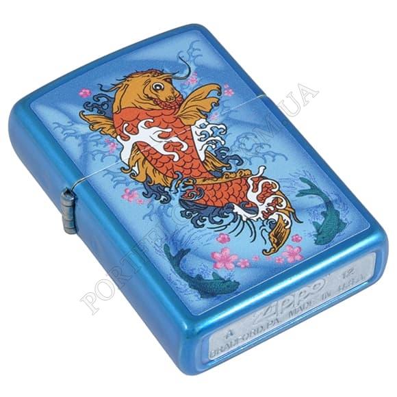 Запальничка Zippo 28139 Koi Fish Cerulean