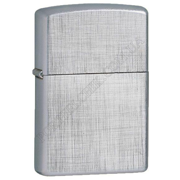 Запальничка Zippo 28181 Reg Linen Weave Brushed Chrome
