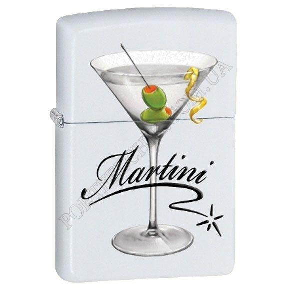 Запальничка Zippo 28271 BS Martini White Matte