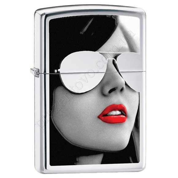 Запальничка Zippo 28274 BS Sunglasses High Polish Chrome