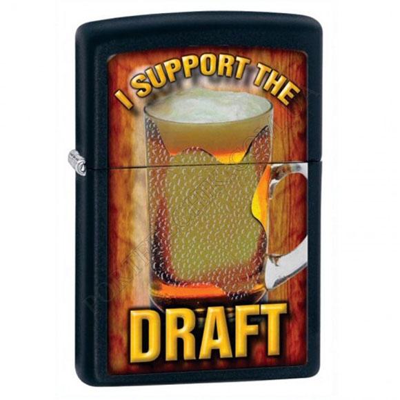 Зажигалка Zippo 28294 I Support The Draft