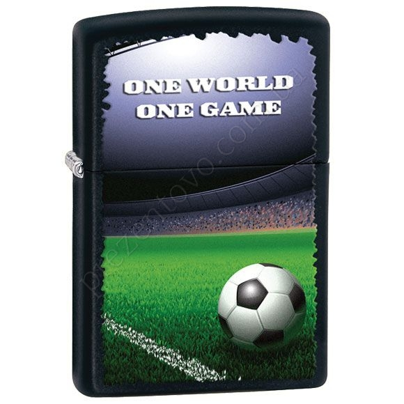 Запальничка Zippo 28301 Football in Stadium Black Matte