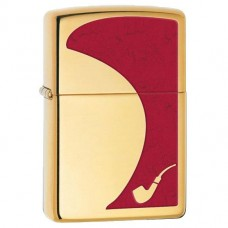 Запальничка Zippo 28322 Pipe Lighter Red High Polish Brass
