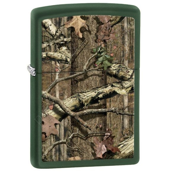 Запальничка Zippo 28331 Mossy Oak Break Up Infinity Green Matte