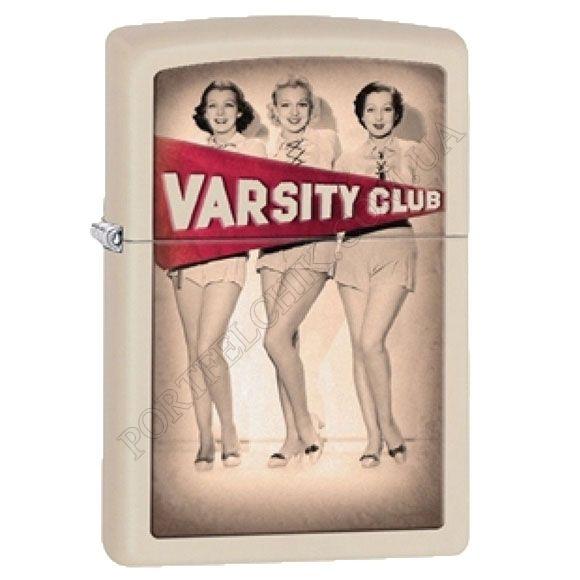Зажигалка Zippo 28441 Varsity Club Cream Matte