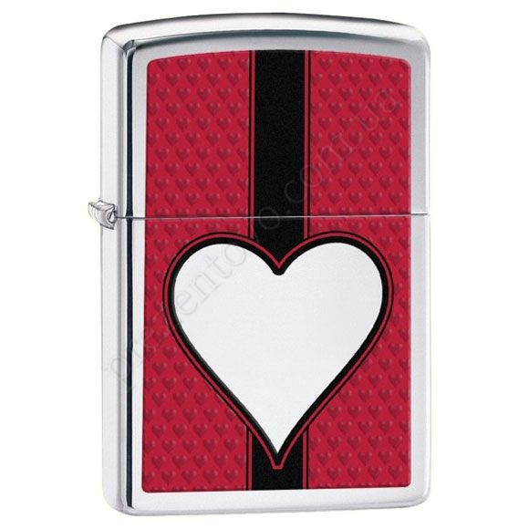Запальничка Zippo 28466 Chrome Heart High Polish Chrome