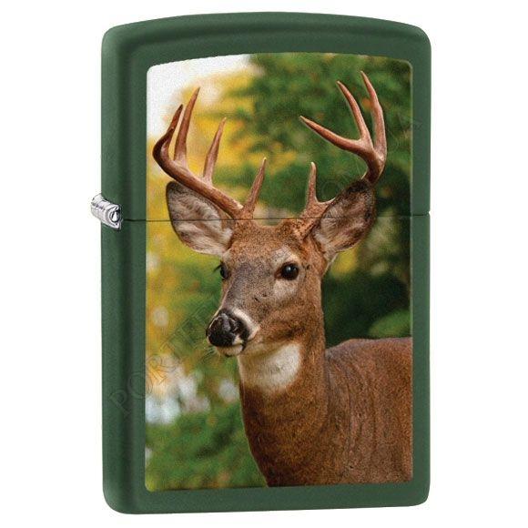 Запальничка Zippo 28471 Buck Green Matte