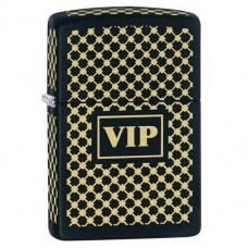 Зажигалка Zippo 28531 Vip Black Matte