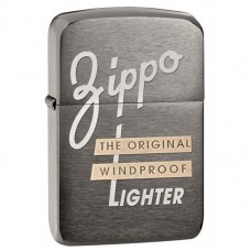 Зажигалка Zippo 28534 Replica 1941 Original Windproof Black Ice