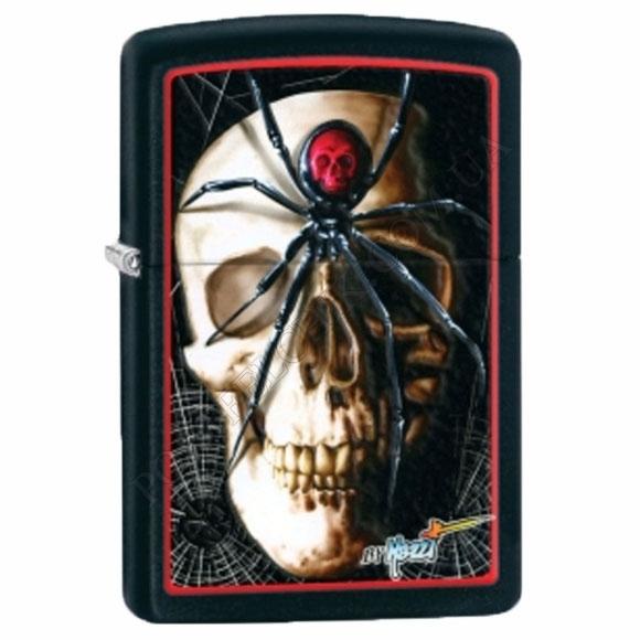Запальничка Zippo 28627 Mazzi Skull Spider