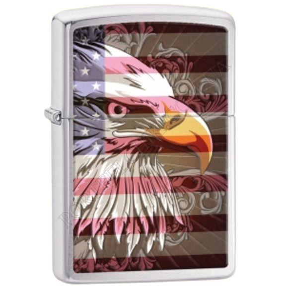 Зажигалка Zippo 28652 Eagle Flag