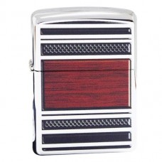 Запальничка Zippo 28676 Pipe Lighter Steel And Wood High Polish Chrome