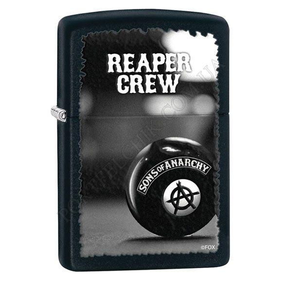 Запальничка Zippo 28677 Sons Of Anarchy Reaper Crew