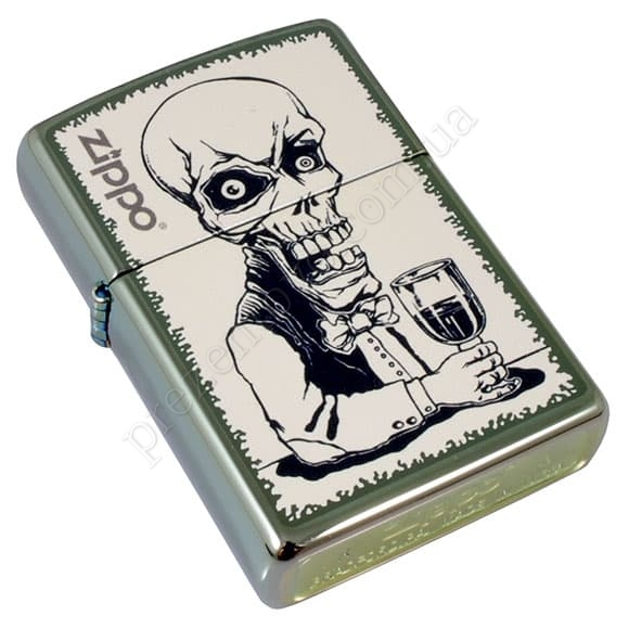 Зажигалка Zippo 28679 Skeleton Bartender