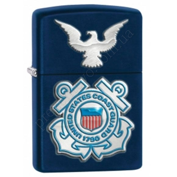 Зажигалка Zippo 28681 United States Coast Guard Seal And Eagle