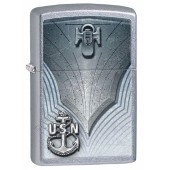 Зажигалка Zippo 28682 United States Navy Anchor