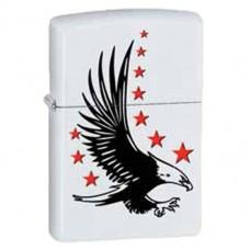 Зажигалка Zippo 28708 Eagle and Stars White Matte