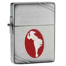 Зажигалка Zippo 28729 Windy Girl 1935 Replica Brushed Chrome