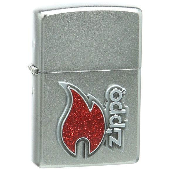 Зажигалка Zippo 28847 Red Flame Emblem
